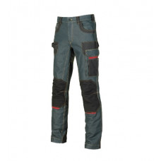 Pantaloni jeans U-Power Platinum button
